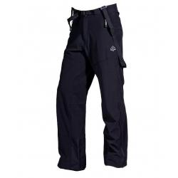nohavice Zajo Volcano Pants Black
