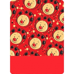 Multifunkčná šatka 4Fun Lady Bag Kid Red