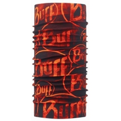 Buff Multi Logo Orange Fluor