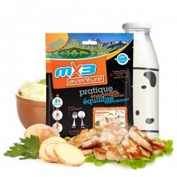 mX3 Potato Puree with Chicken - zemiaková kaša s kuracím mäsom