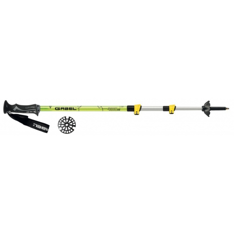 palice Gabel Mont Blanc Lite Lime fast lock
