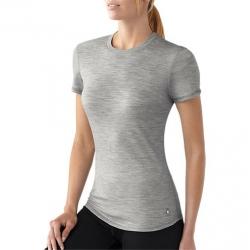 tričko Smartwool Women's NTS Micro 150 Tee silver