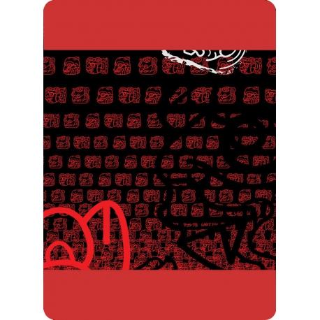 Multifunkčná šatka 4Fun Mask Red/Red
