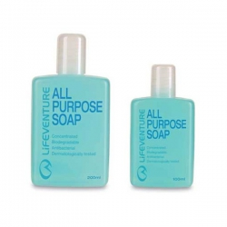 Lifeventure All Purpose Soap 200 ml