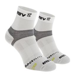 ponožky Inov-8 Race Elite Sock mid 2p white/grey