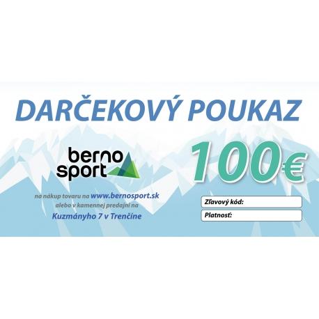 3d274ae89 Darčekový poukaz 100 Eur | BERNO šport