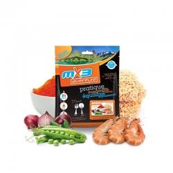 mX3 Red Curry Noodles & Shrimps - rezance s krevetami v červenom kari