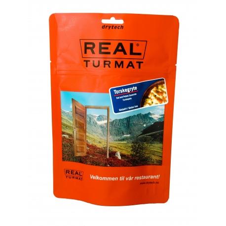 REAL TURMAT Cod and Potato Casserole