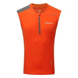 Montane Fang Zip Tank red